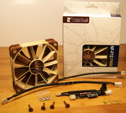 Contents Wbox 1 Noctua NF F12 PWM fans bring performance and silence to any cooler or radiator