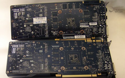 PCB of GTX 770 SC 4GB and Nvidia GTX 770 2GB