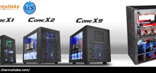 1_Thermaltake launches the new Core X1, X2, X9 cube cases