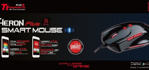 3_Tt eSPORTS Reveals the New THERON Plus  SMART MOUSE - The Smartest Bluetooth Gaming Mouse