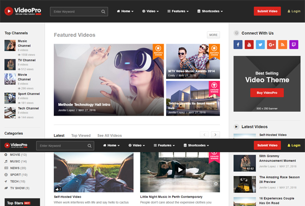 45+ Best WordPress Video Themes 2018 Updated - set up web site