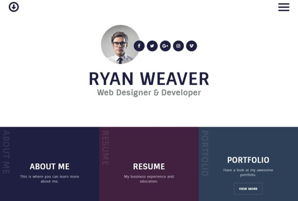 50+ Best Online CV Resume WordPress Themes 2017 - resume wordpress theme