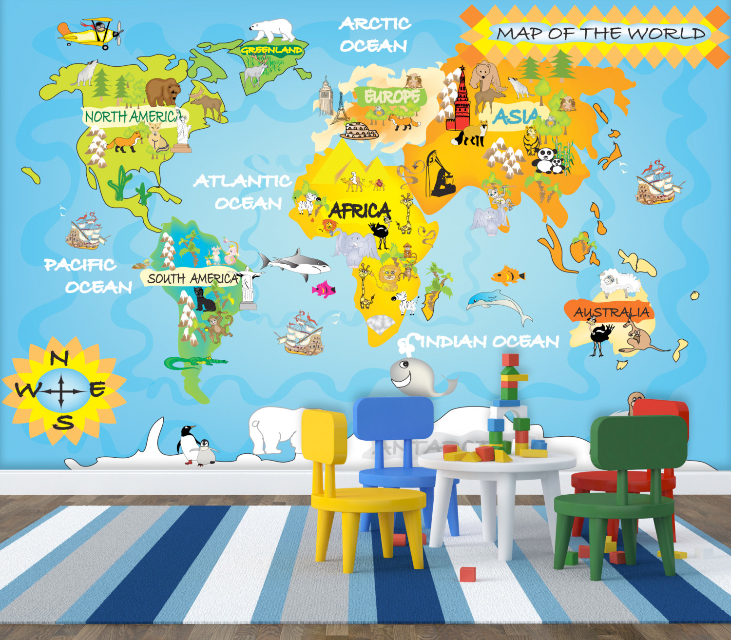 Childrens Wall Murals Wallpaper 5 Wallpapers That Will Spark Your Kids Creativity A Life