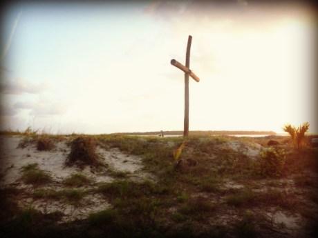 Camp cross/Photo courtesy of Ana Olbrych
