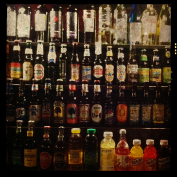Wall of beer / Photo by Amy Watson Smith, 2013
