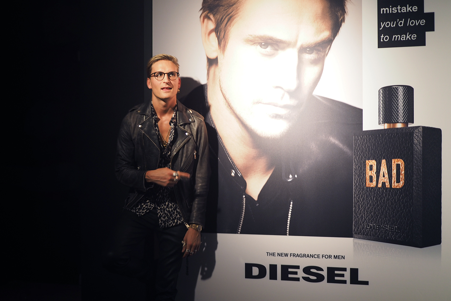Bad Diesel Set Paris Celebrates Diesel Bad Fragrance Edition Ali Gordon
