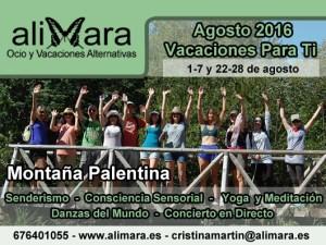 """Vacaciones Alternativas """"Vacaciones Para Ti"""" - Del 1 al 7 de Agosto 2016 @ Jardín Mandala"""