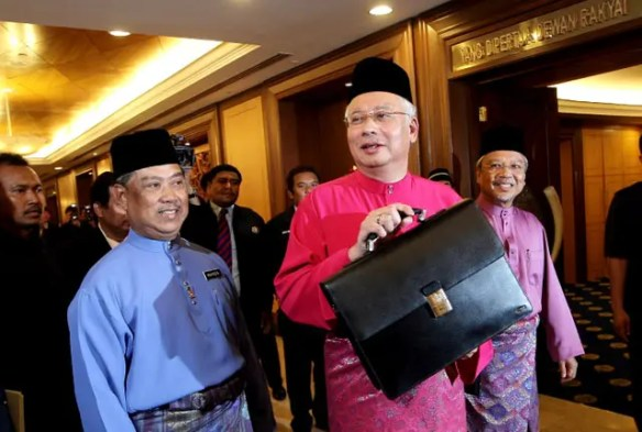 Najib must step down pending a probe