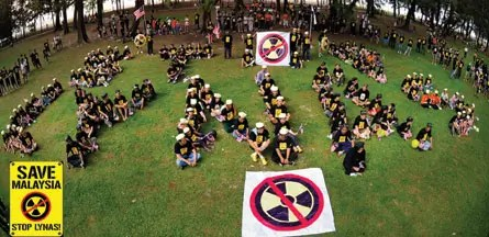 The anti-Lynas movement