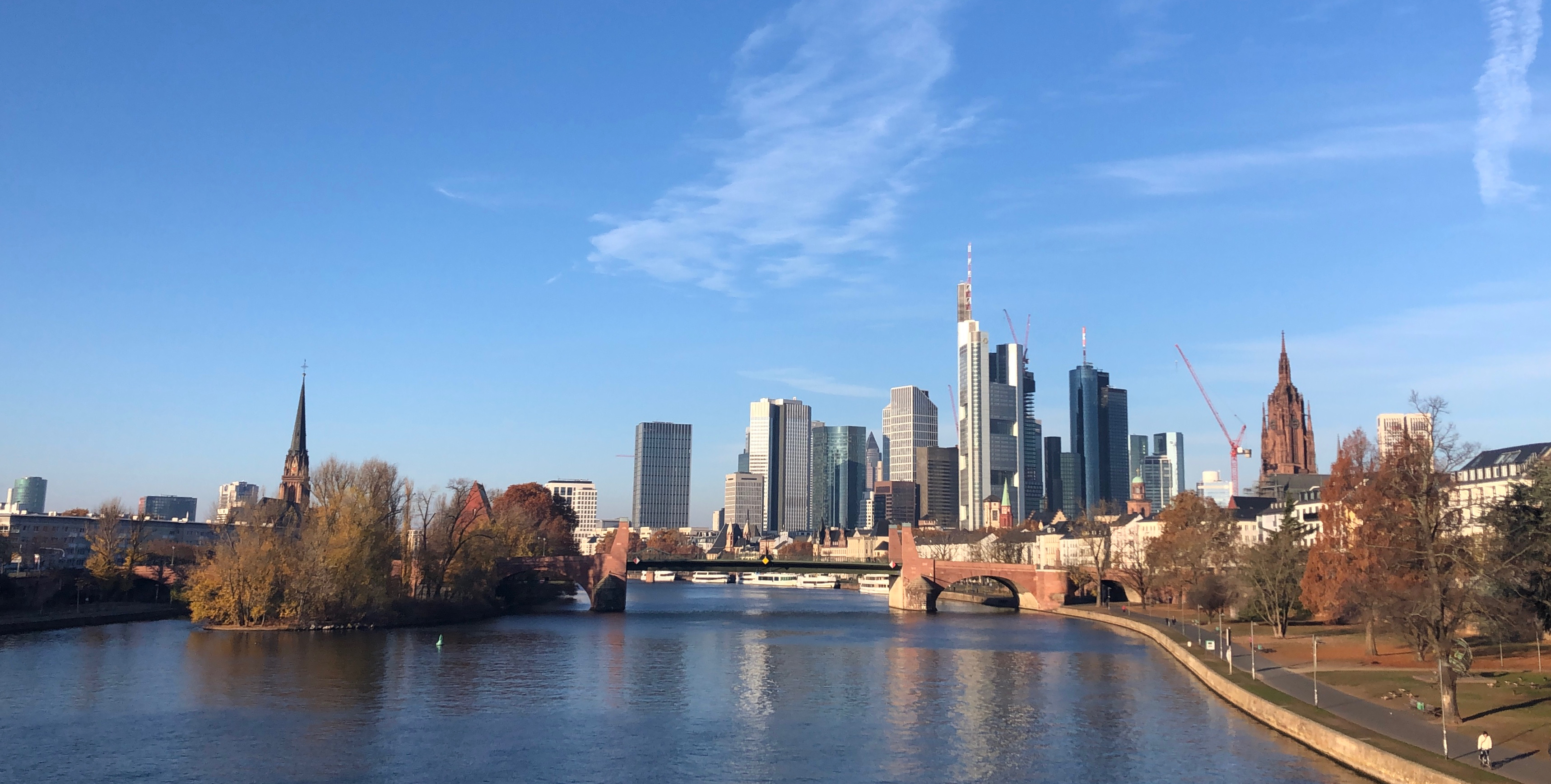 The Best Views Of Frankfurt And Its Skyline Alisa Jordan Writes