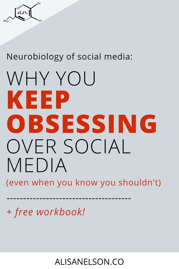 Do you find yourself on social media whenever you start to drift in your focus? Here we're using the science of human behavior to understand WHY it happens even when you know you shouldn't. Plus download a free workbook and start building new habits that will boost your creativity + productivity. Social media doesn't have to be the bad guy. Regain your focus and your drive. More at http://alisanelson.co/blog