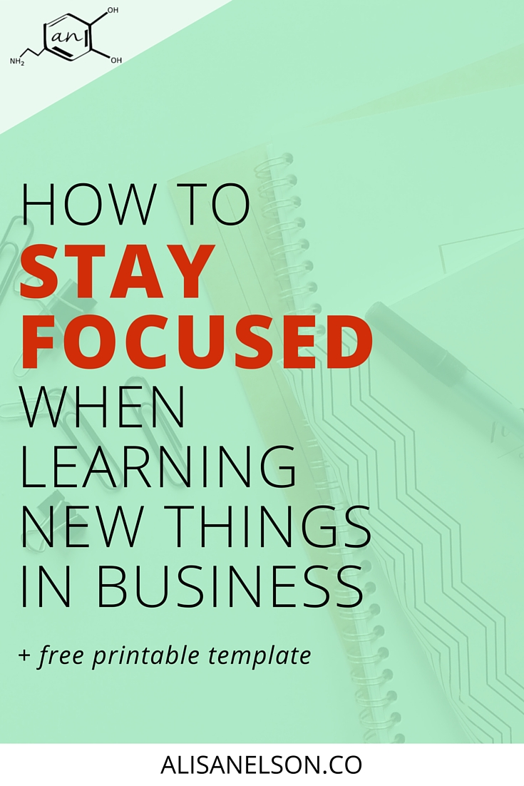 """Tired of every business question leading to hours of unproductive research (and youtube videos?) Here are 12 tips for maintaining focus and beating procrastination while solving problems like a boss. Plus a bonus template for important """"before you google"""" work to ensure your learning is effective and relevant to your biz."""