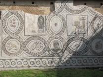 Wall mosaic, Villa of Perseus