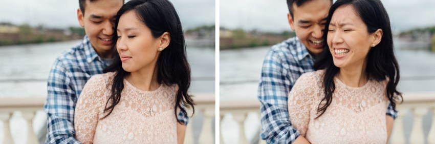 25 - Moon + Nina - Philadelphia Art Museum Engagement Session - Alison Dunn Photography