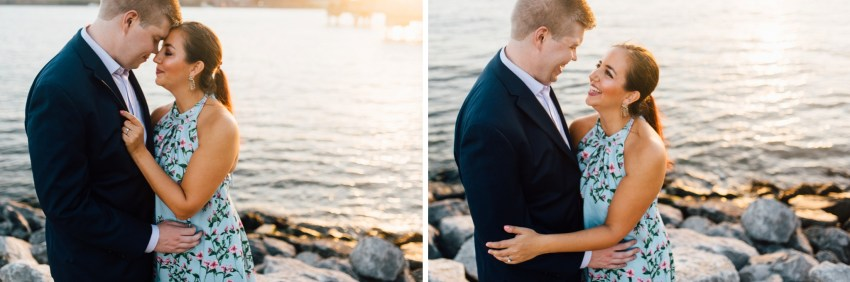 Colleen + Matt - WNYC Transmitter Park - Greenpoint Brooklyn New York Engagement Session - Alison Dunn Photography photo
