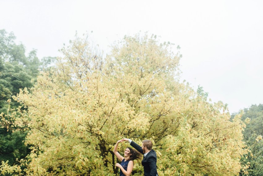 Stephanie + Gary - Tyler Arboretum - Media Engagement Session - Alison Dunn Photography photo
