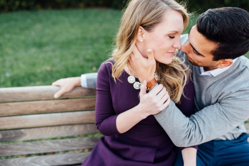 Caitlyn + Ed - University of Delaware - Newark Engagement Session - Alison Dunn Photography photo