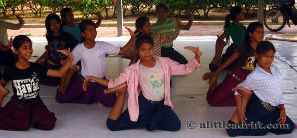 Cambodian Dancer Children