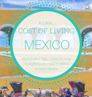 how much does it cost to live in mexico
