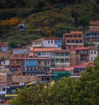 Architecture in Tbilisi, Georgia