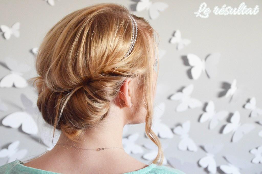 Coiffure Avec Un Headband Tresse Ivory Hairstyle
