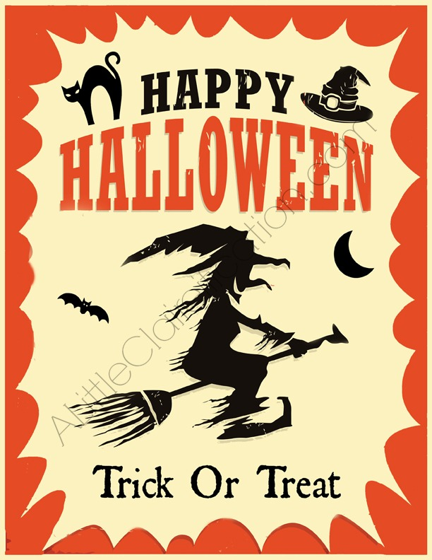 Fun  FREE Halloween Printables - A Little Claireification