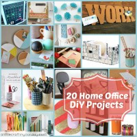 20 Home Office DiY Projects - A Little Craft In Your Day