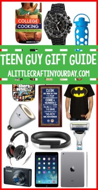 Teen Guy Gift Guide - A Little Craft In Your Day