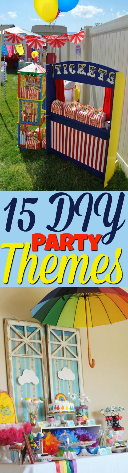 Diy Party 15 Diy Party Themes A Little Craft In Your Day