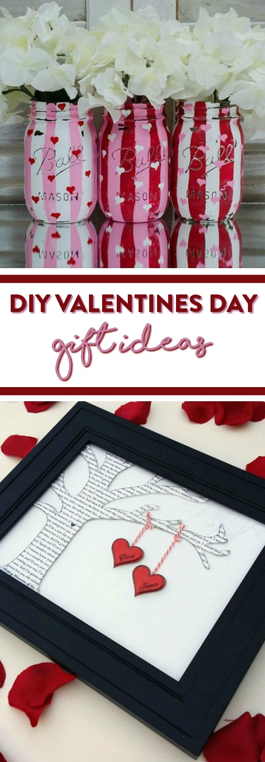 DIY Valentines Day Gift Ideas - A Little Craft In Your Day