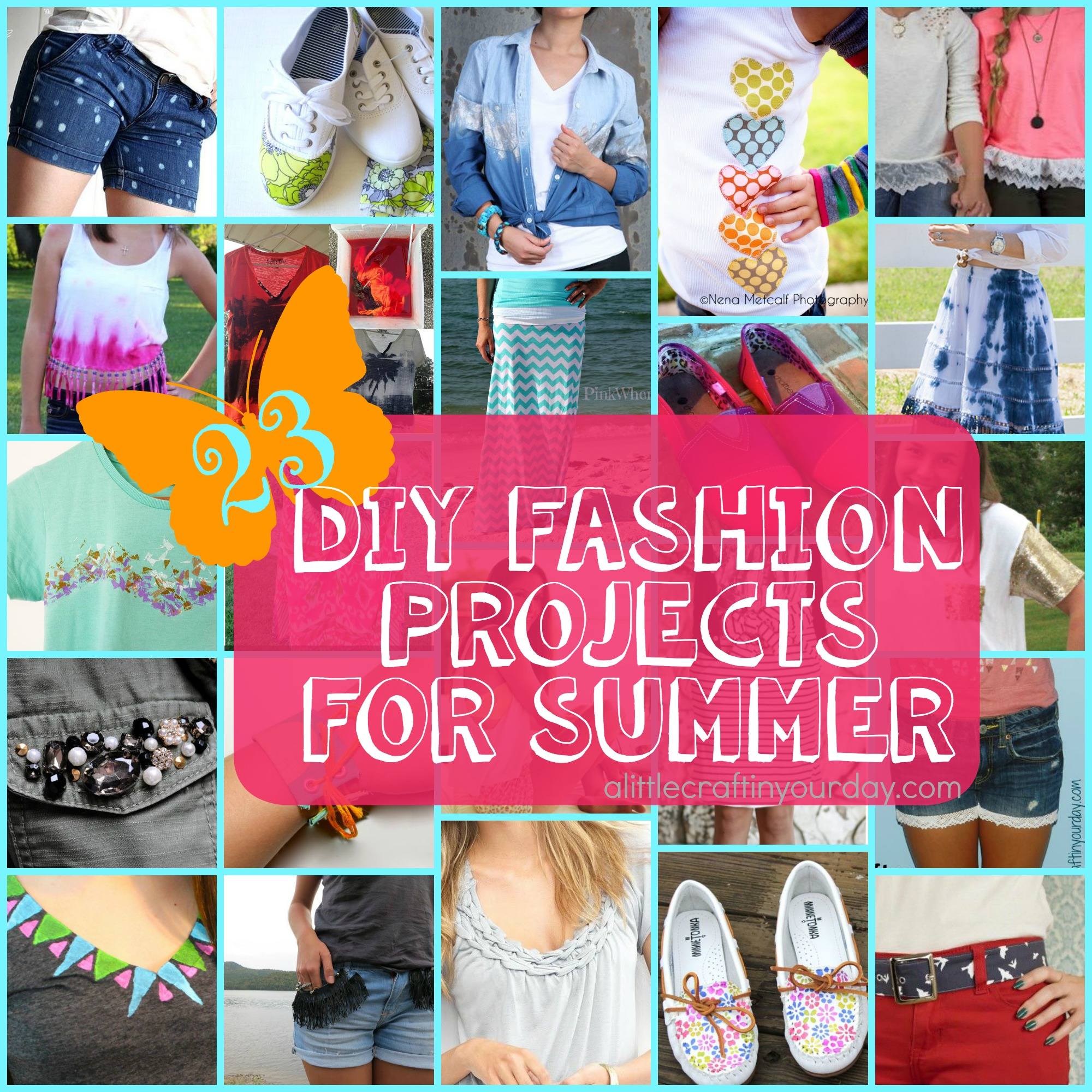 Diy Clothes For Summer 23 Diy Fashion Projects For Summer