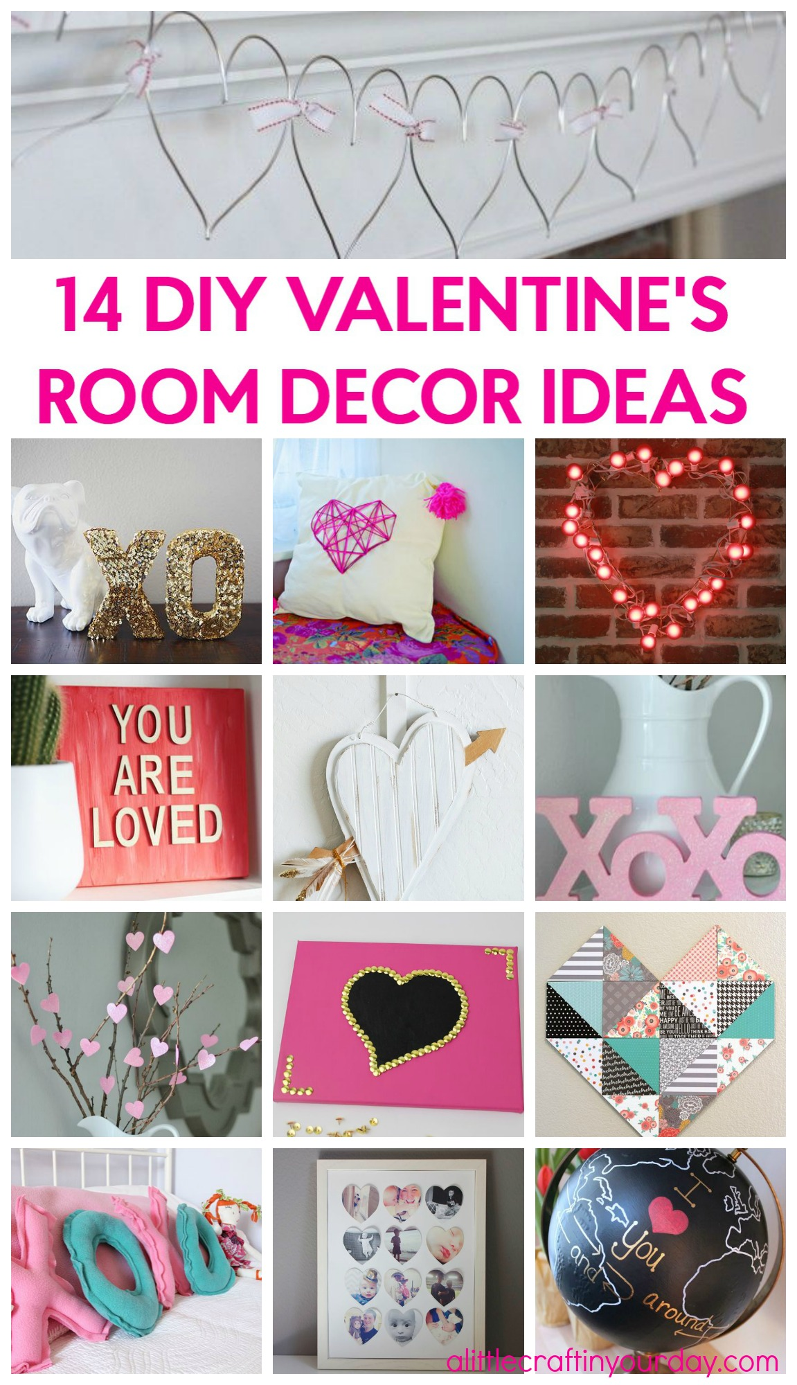 14 Year Old Room Ideas 14 Valentine 39s Room Decor Ideas A Little Craft In Your Day