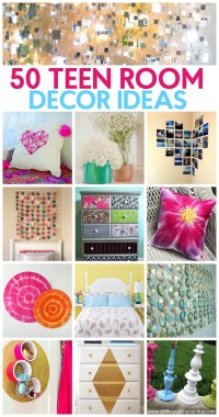 50 Teen Girl Room Decor Ideas - A Little Craft In Your Day