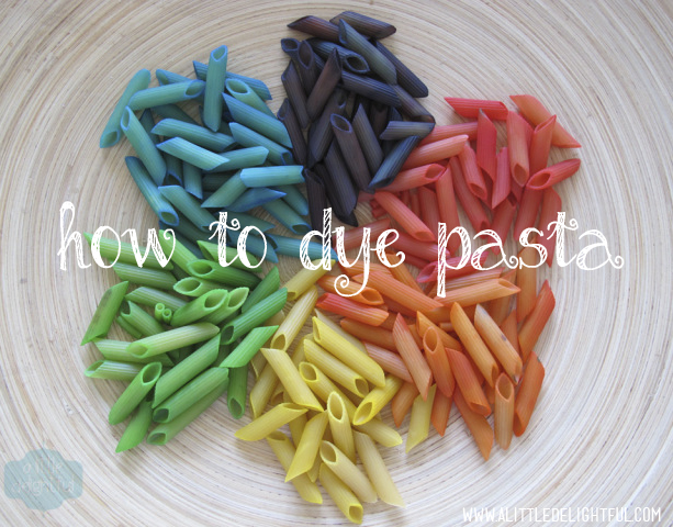 how_to_dye_pasta