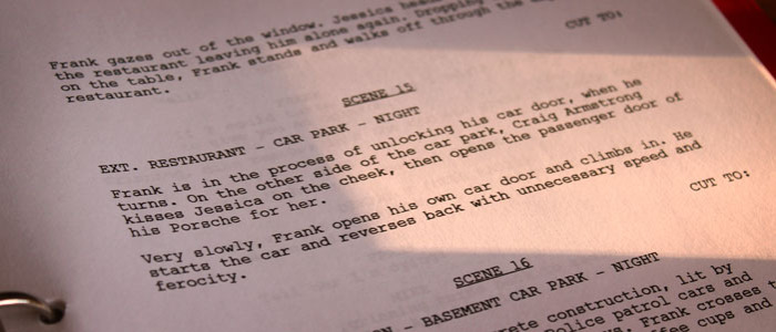 Flipping the Script - Writers for Television Change Scripts Based on