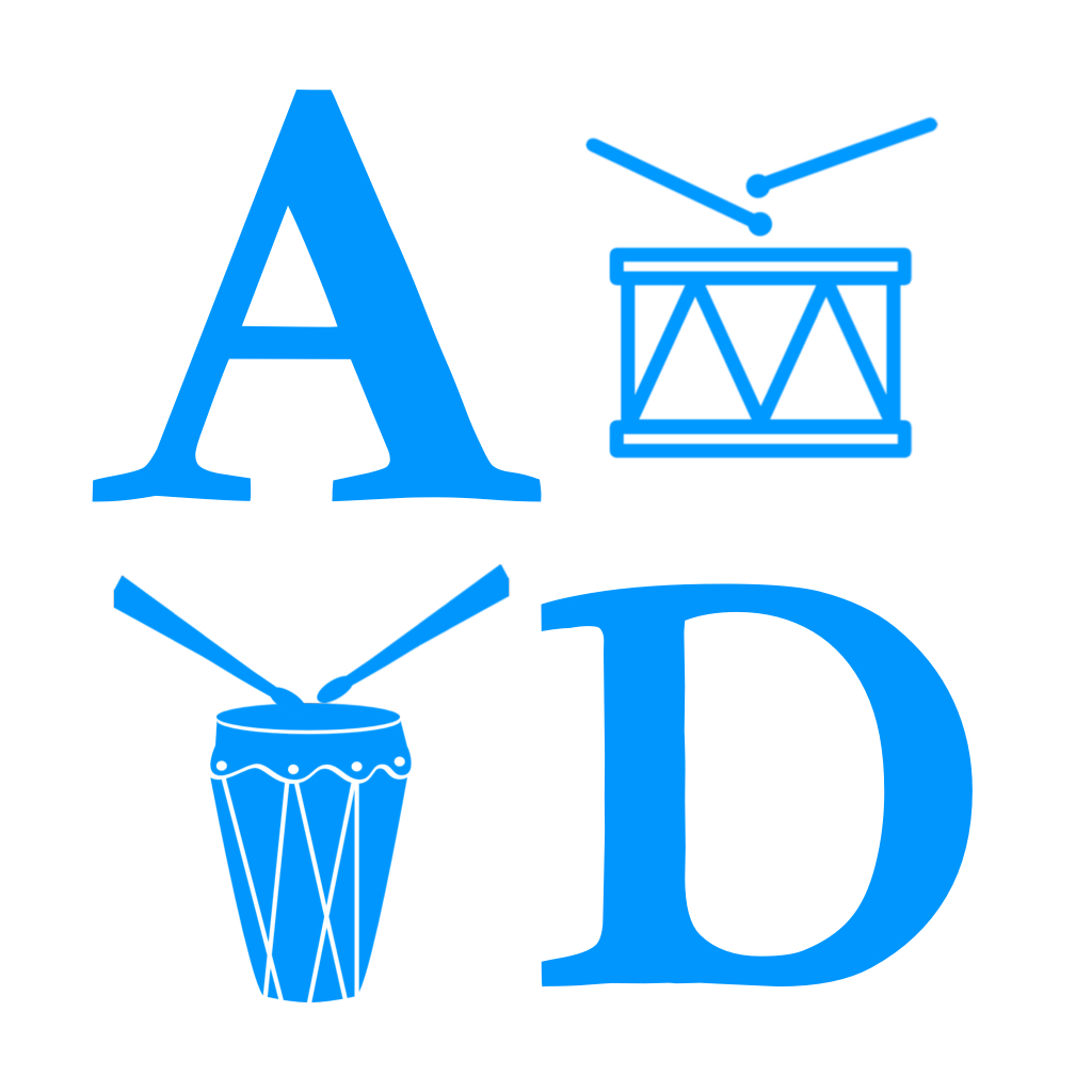 圆角为iCon AliveDrumming 512×512 iOS6的舍入
