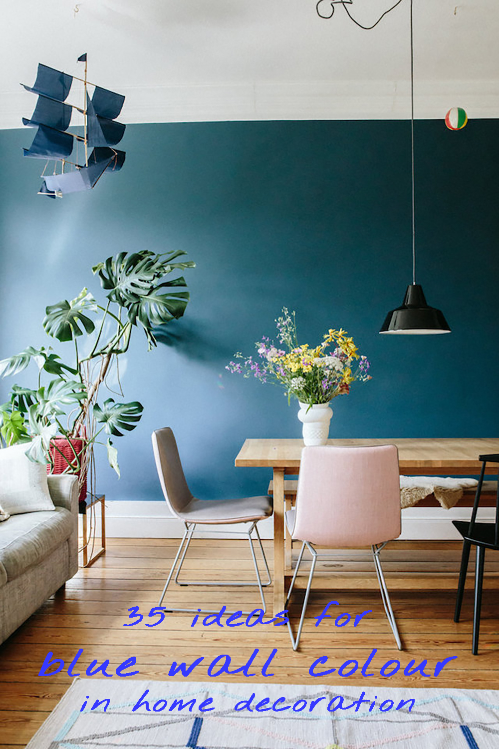 Photo Decoration In Room 35 Ideas For Blue Wall Colour In Home Decoration Aliz S Wonderland