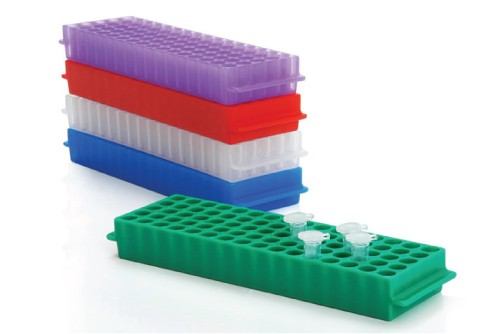 Microcentrifuge Tube Rack 5x16 Holes Rack Assorted Color
