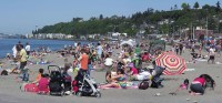Time to shake the sand off your beach-side manners!   Alki ...