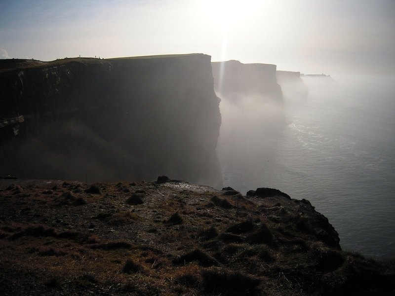 Ireland Fall Wallpaper The Cliffs Of Moher Where Sheer Cliffs Meet The Sea