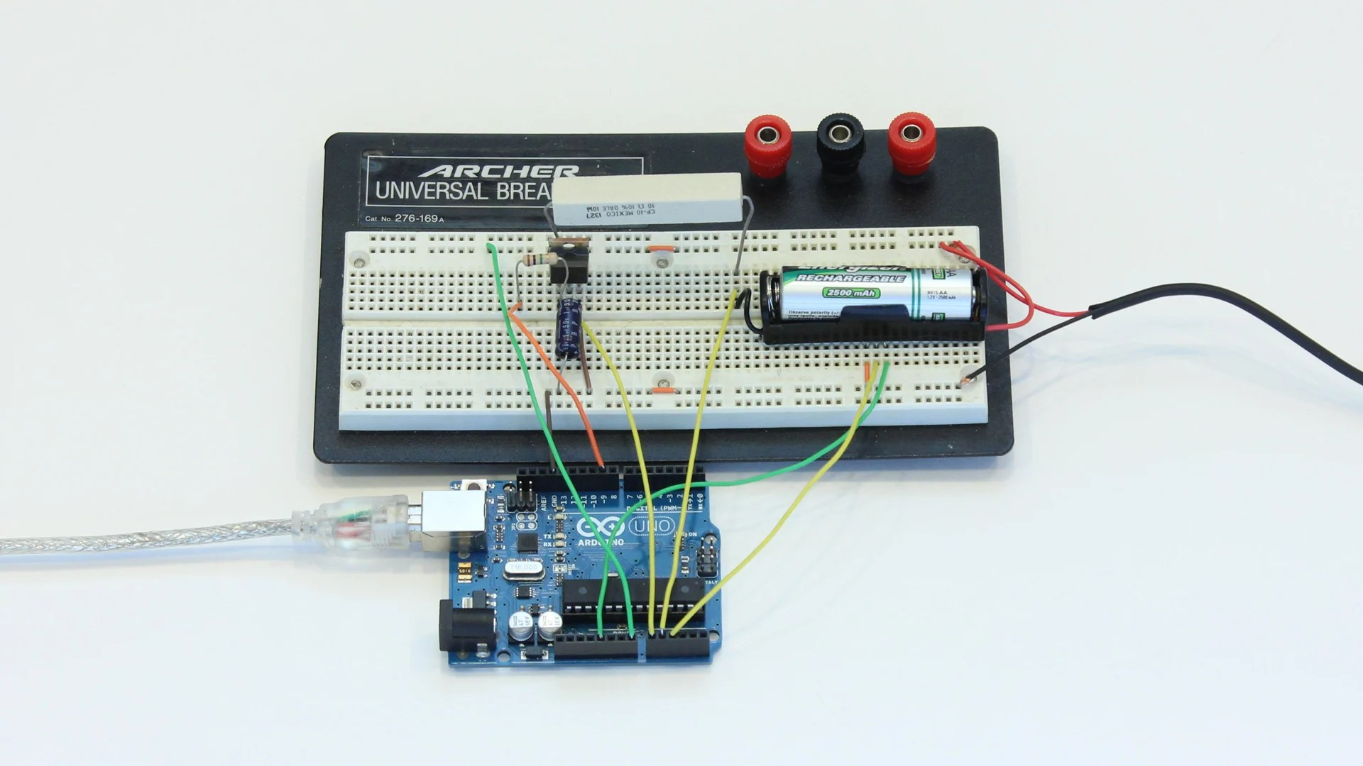 Aa Akku Create An Arduino Controlled Battery Charger
