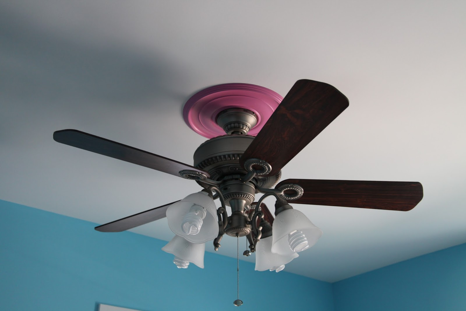 Childrens Ceiling Fans Cute Pink Girls Ceiling Fan Lights European Stylejollyhome