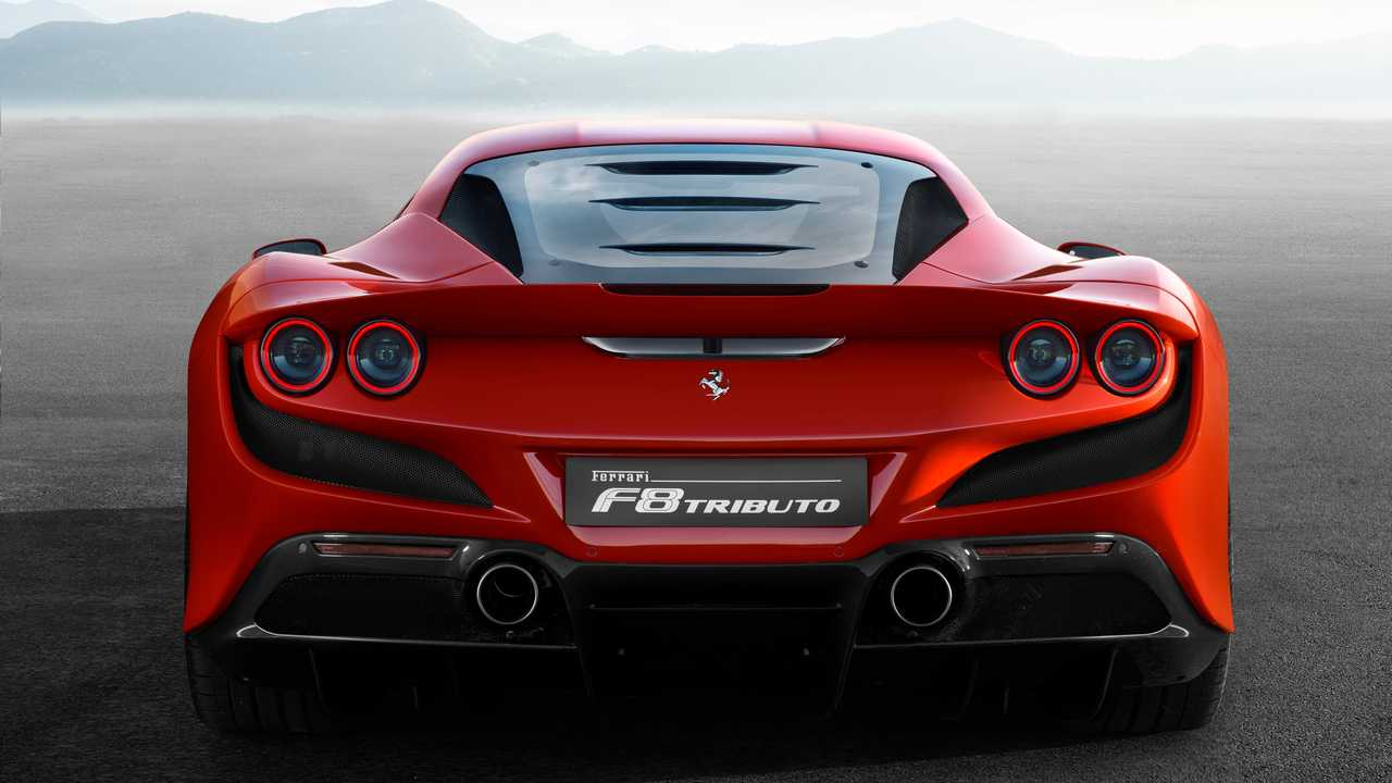 Lightweight Plane Ferrari Revealed The F8 Tributo - All About Italy