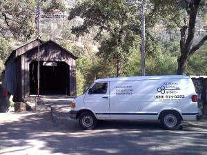 Chico Ca Locksmith Service Van
