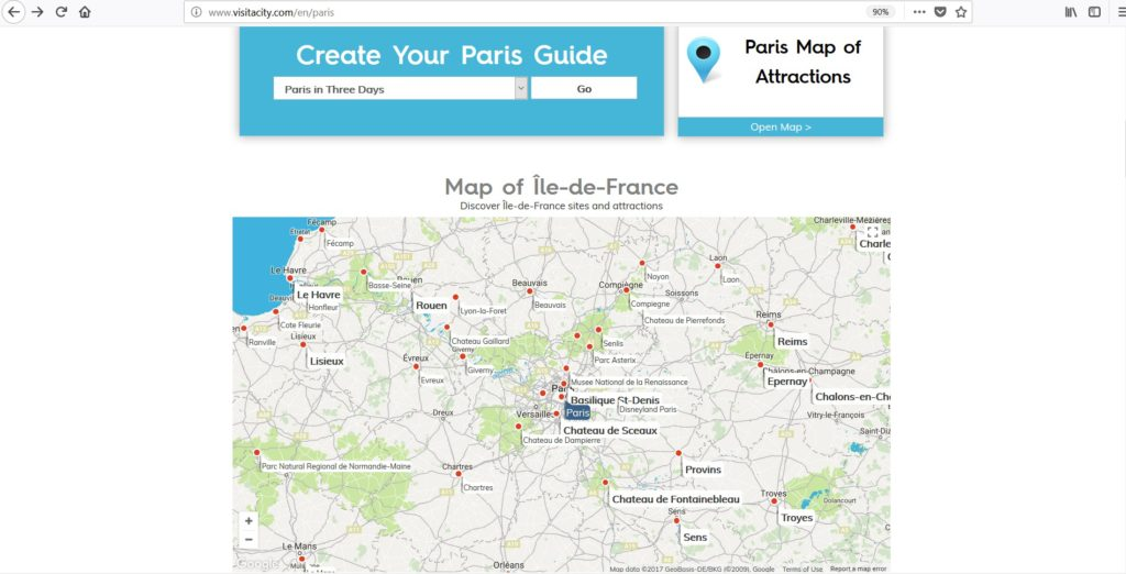 My all time favorite trip planning tool Visit a City - All About