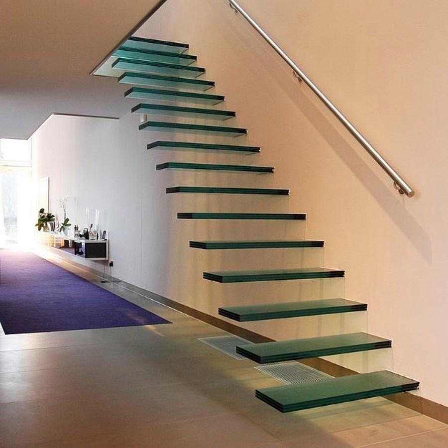 Escadas Em Vidro All About That Glass