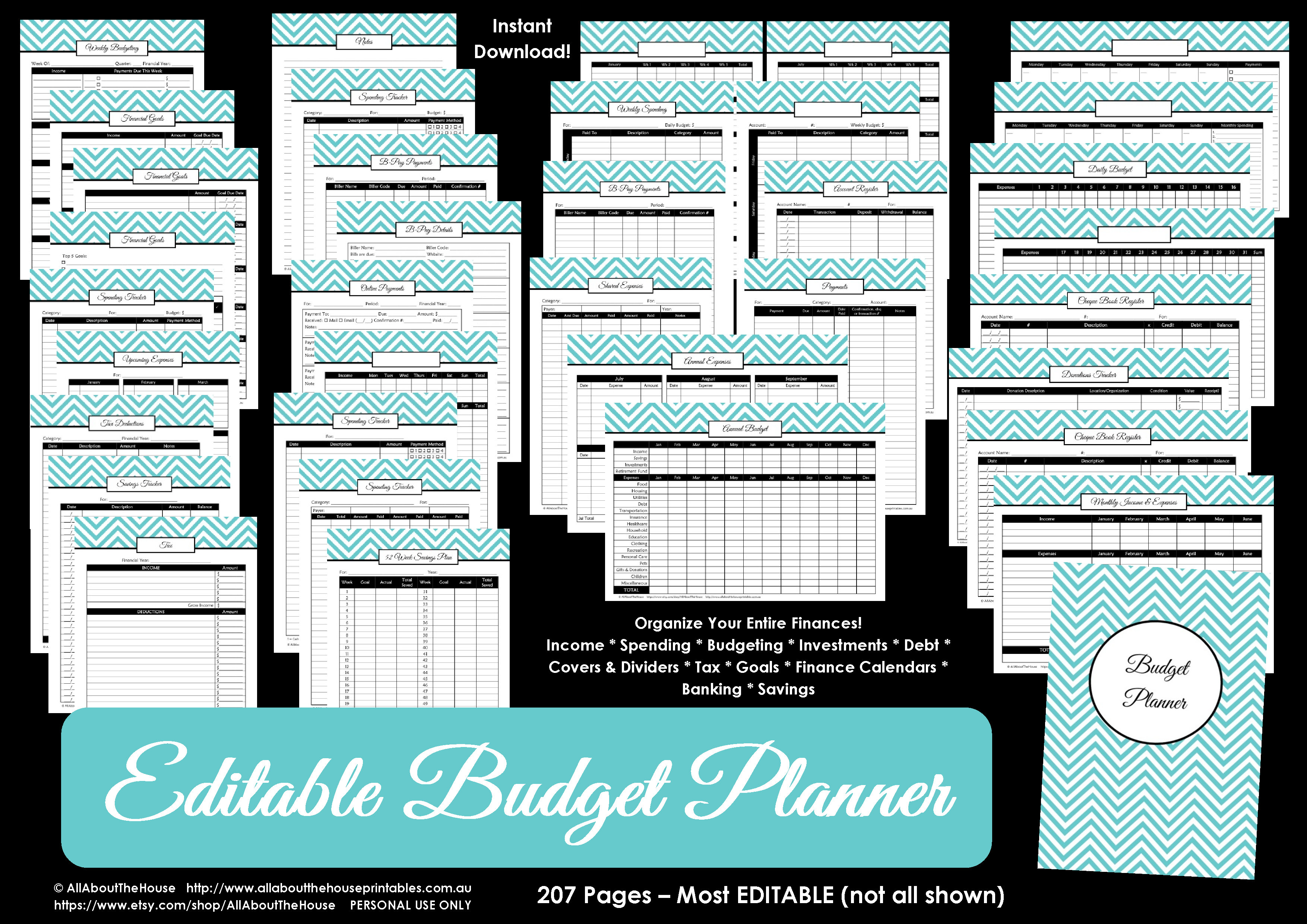Budget Printable Allaboutthehouse Printables