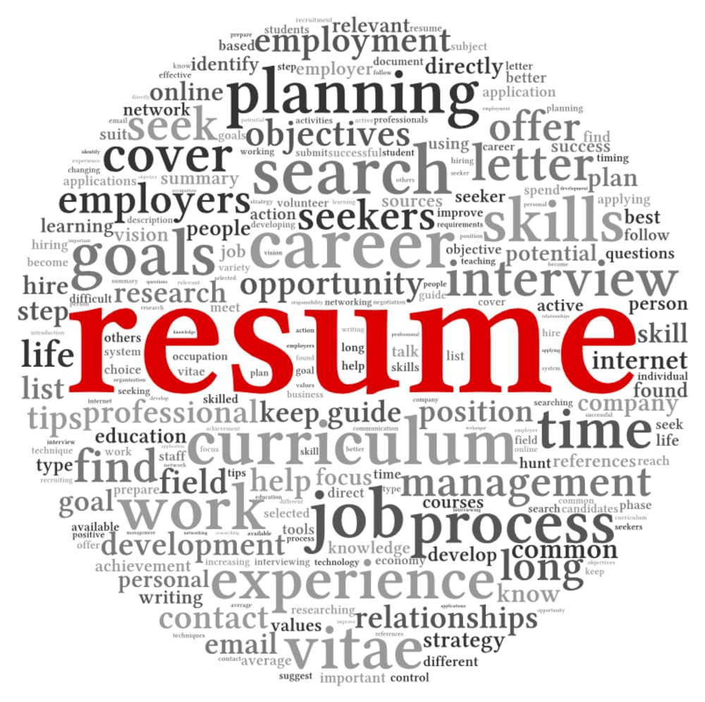 how to write current job in resume