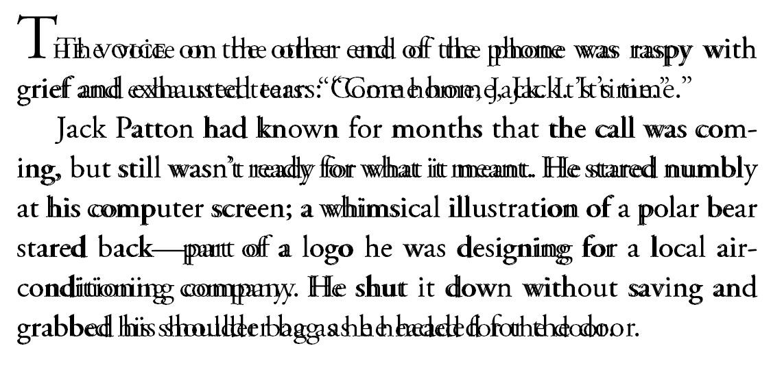 Microsoft Word vs Adobe InDesign A Text Snapshot Allan Airish
