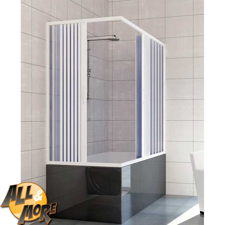 All More It Box Cabina Doccia Angolare Per Vasca In Pvc